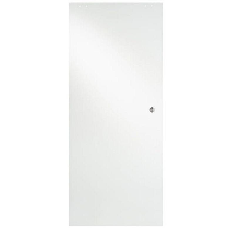 Porte coulissante en verre puret portes - Lapeyre porte coulissante en verre ...