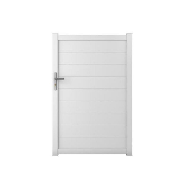 Portillon aluminium bari ext rieur for Portillon de jardin pvc