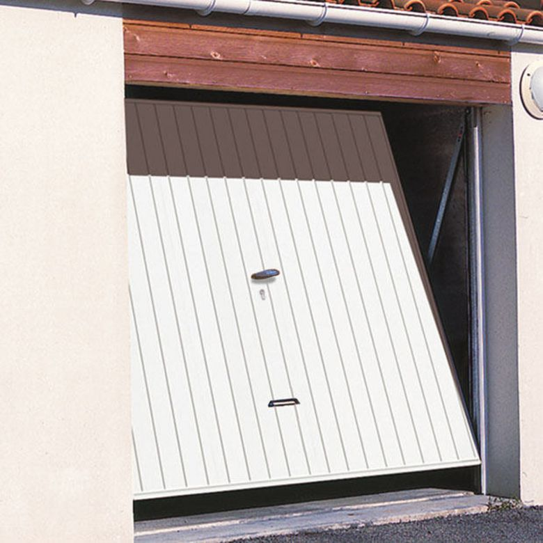 Porte garage for Porte garage basculante sur mesure