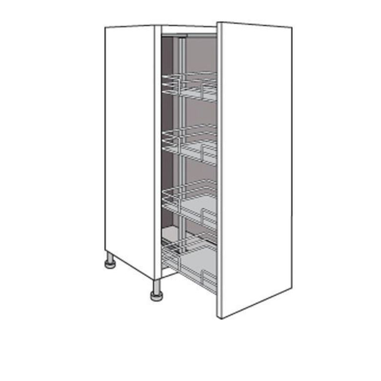 demi colonne r serve de cuisine avec 4 paniers fils twist. Black Bedroom Furniture Sets. Home Design Ideas