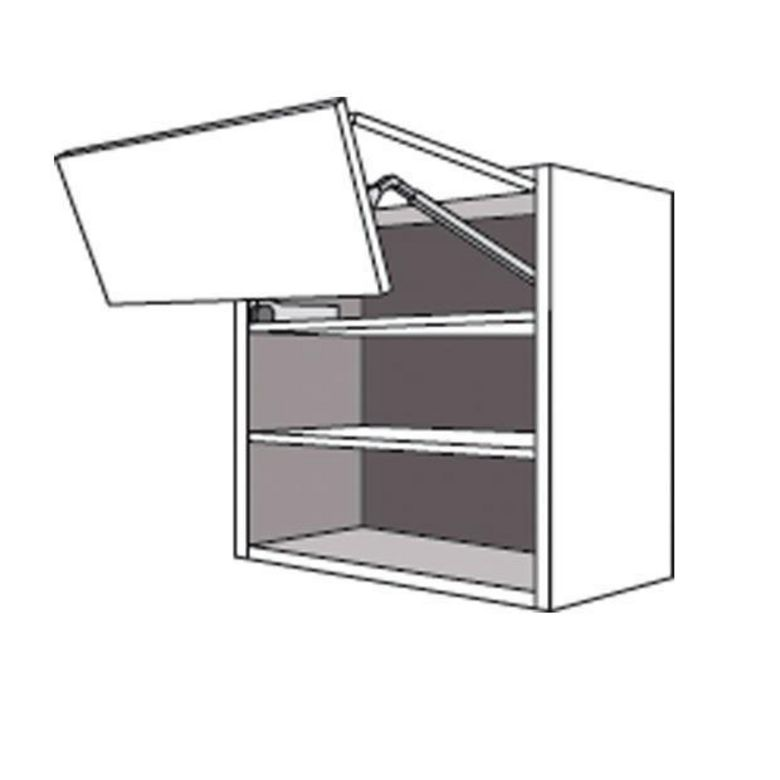 Meuble de cuisine haut 1 porte pliante pleine twist cuisine - Porte meuble cuisine lapeyre ...