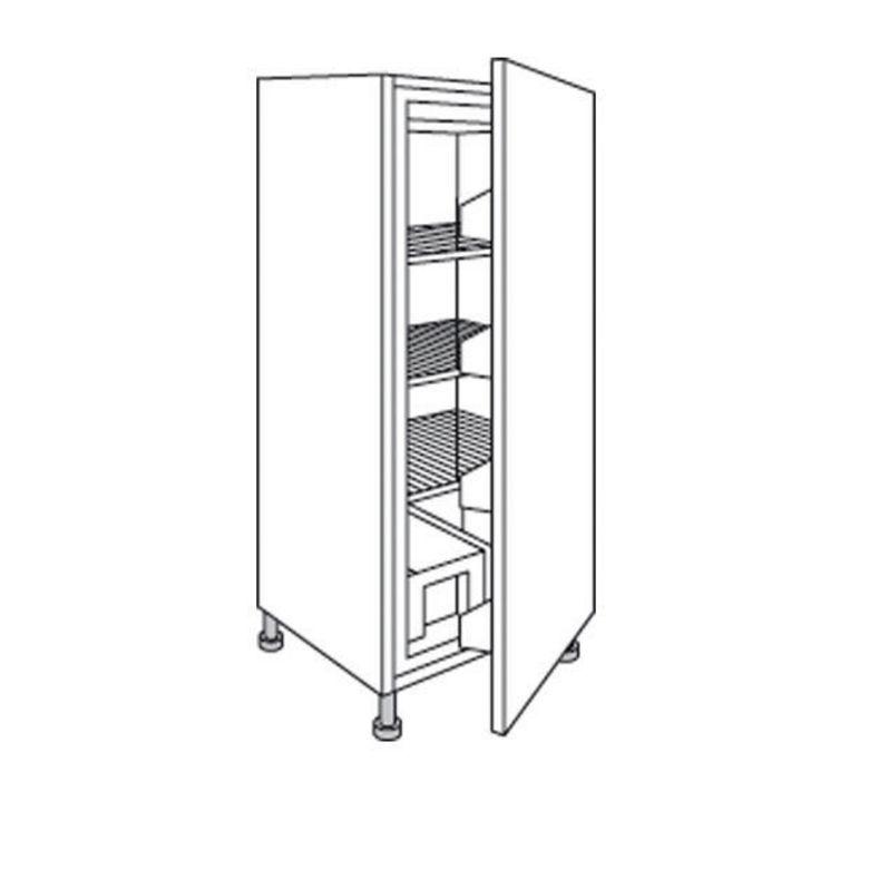 Demi colonne de cuisine pour r frig rateur urban cuisine - Caisson colonne cuisine ...