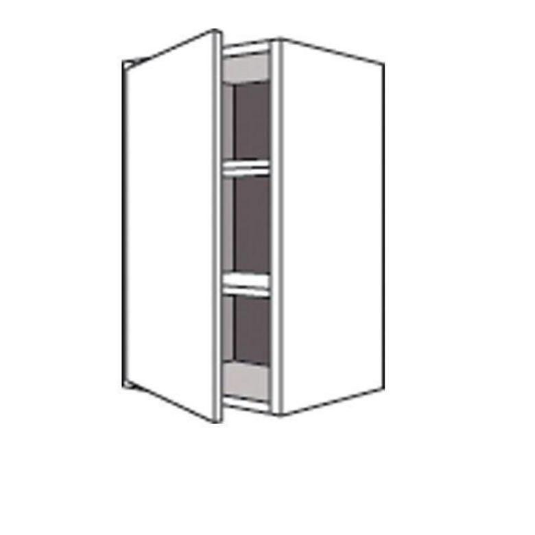 meuble de cuisine haut avec 1 porte lumio h 70 cm cuisine On meuble 70 cm de haut