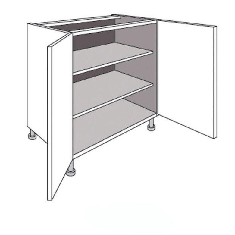 meuble de cuisine bas avec 2 portes et 2 tablettes origine. Black Bedroom Furniture Sets. Home Design Ideas