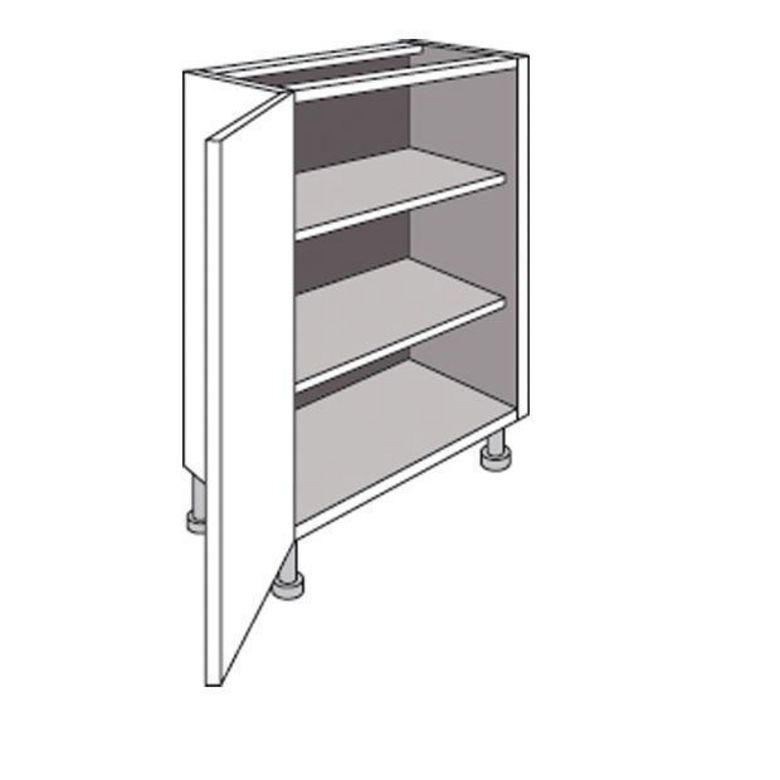Meuble de cuisine bas faible profondeur 1 porte urban for Porte meuble cuisine lapeyre