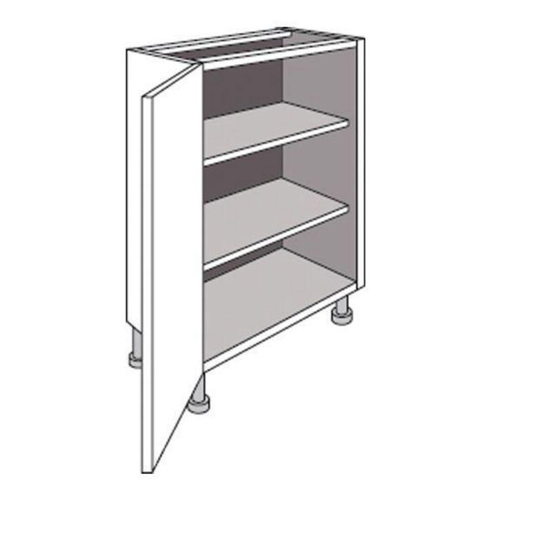 Meuble de cuisine bas faible profondeur 1 porte urban for Porte meuble cuisine