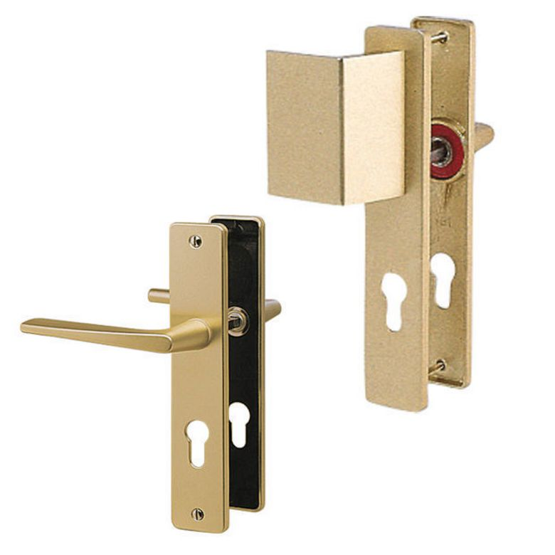 Poign e aragon aluminium anodis portes - Poignees de portes interieures lapeyre ...