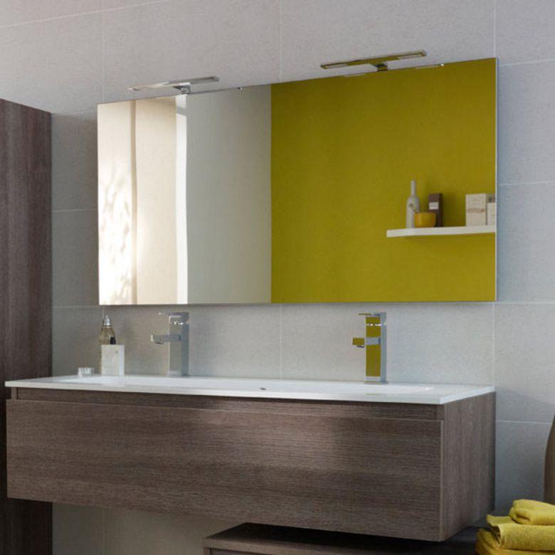 miroir de salle de bain l 120 cm evasion salle de bains. Black Bedroom Furniture Sets. Home Design Ideas