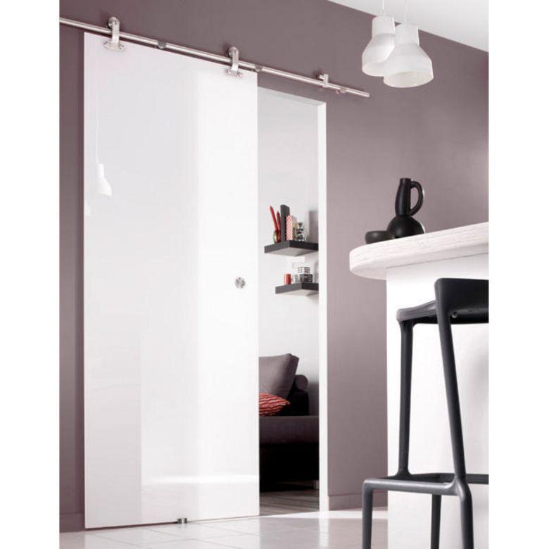 porte coulissante en verre puret portes. Black Bedroom Furniture Sets. Home Design Ideas