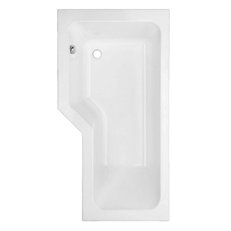 Baignoire droite toplax gauche audace salle de bains for Baignoire rectangulaire 160x90