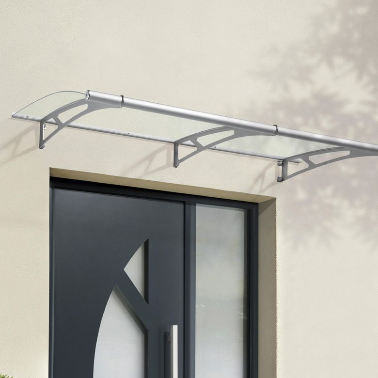 Auvent contemporain thea xl portes for Auvent de maison