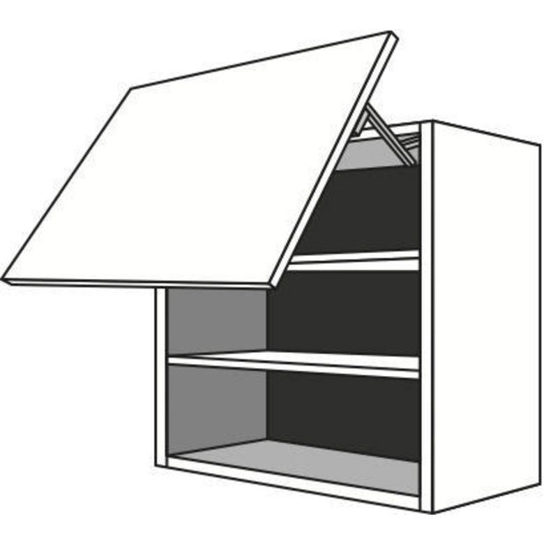 meuble de cuisine haut 1 porte basculante 2 tablettes urban cuisine. Black Bedroom Furniture Sets. Home Design Ideas