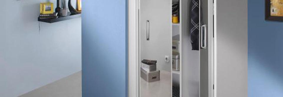 Les portes de placard pliantes - Portes coulissantes lapeyre ...