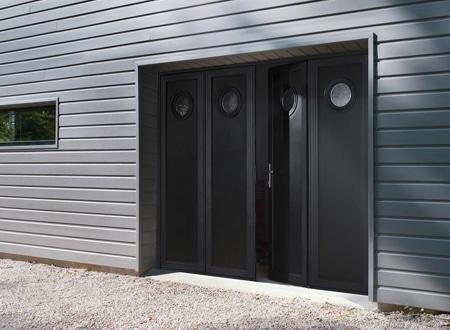 Les Portes De Garage En Accordéon