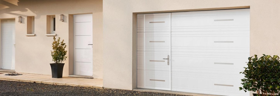 Les portes de garage sectionnelles for Diferbat porte garage