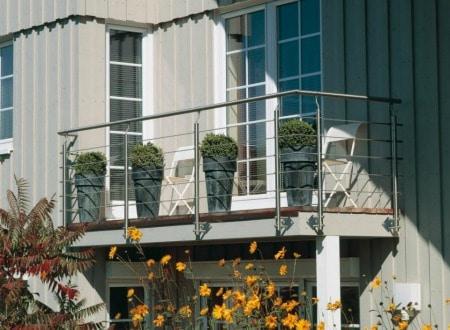 Quel type de balustrade pour sécuriser votre terrasse ?