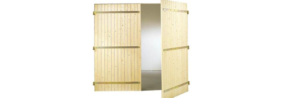 Les portes de garage battantes - Peindre une porte de garage ...
