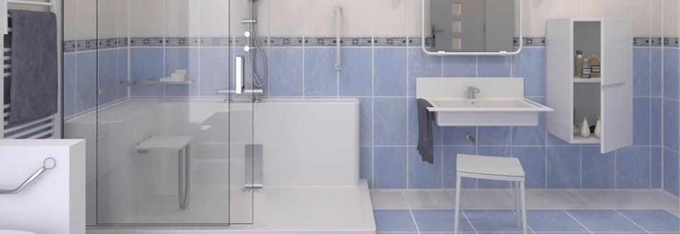 remplacer sa baignoire par une douche sans travaux match. Black Bedroom Furniture Sets. Home Design Ideas
