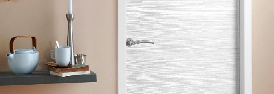 Choisir la couleur de vos portes int rieures contemporaines for Porte interieure en pvc blanc