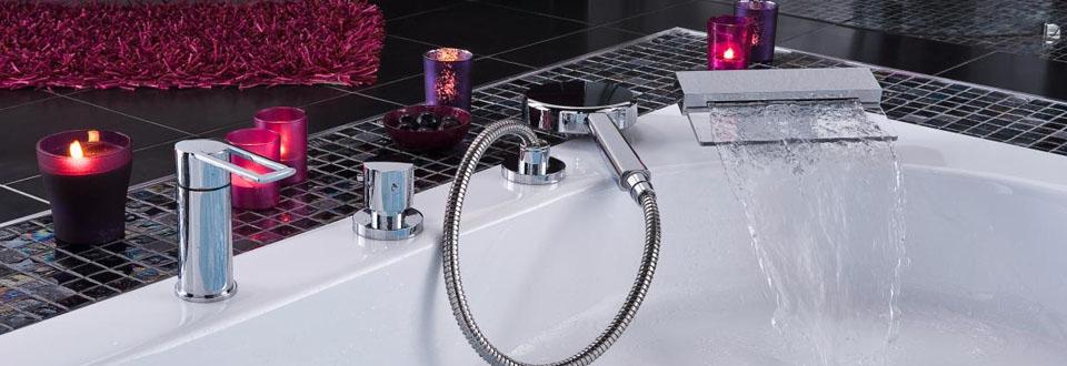 Les robinets de la salle de bains