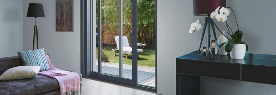 les types d ouverture des baies coulissantes. Black Bedroom Furniture Sets. Home Design Ideas