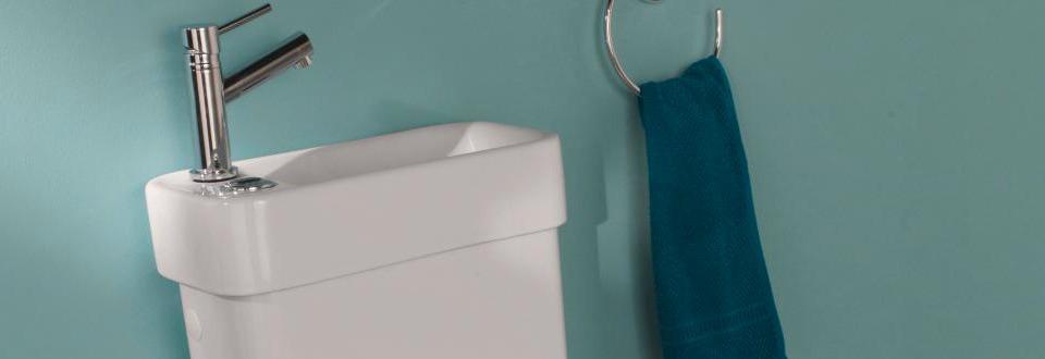 Les combinés WC et lave-mains Alliance