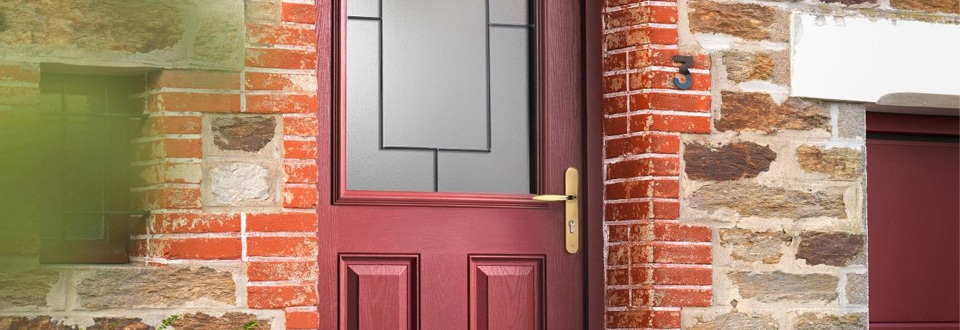 la s curit des portes d entr e. Black Bedroom Furniture Sets. Home Design Ideas