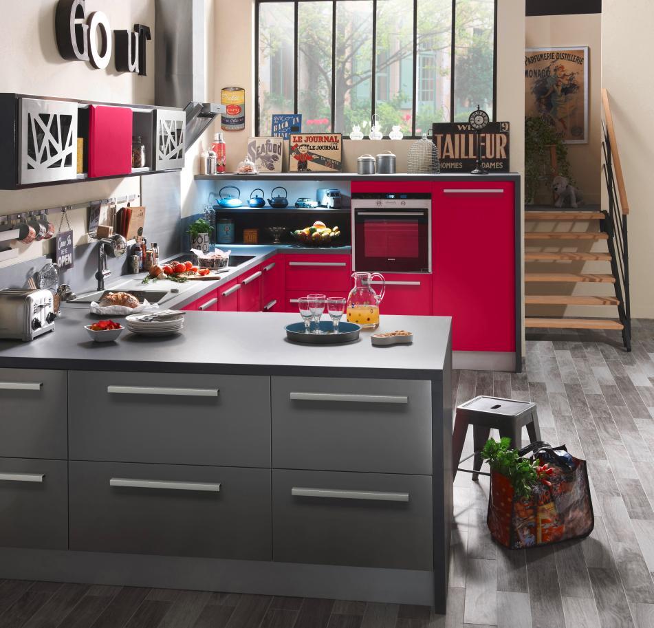 cuisine lapeyre bistrot de cuisine urban de lapeyre ilot central cuisine lapeyre with cuisine. Black Bedroom Furniture Sets. Home Design Ideas