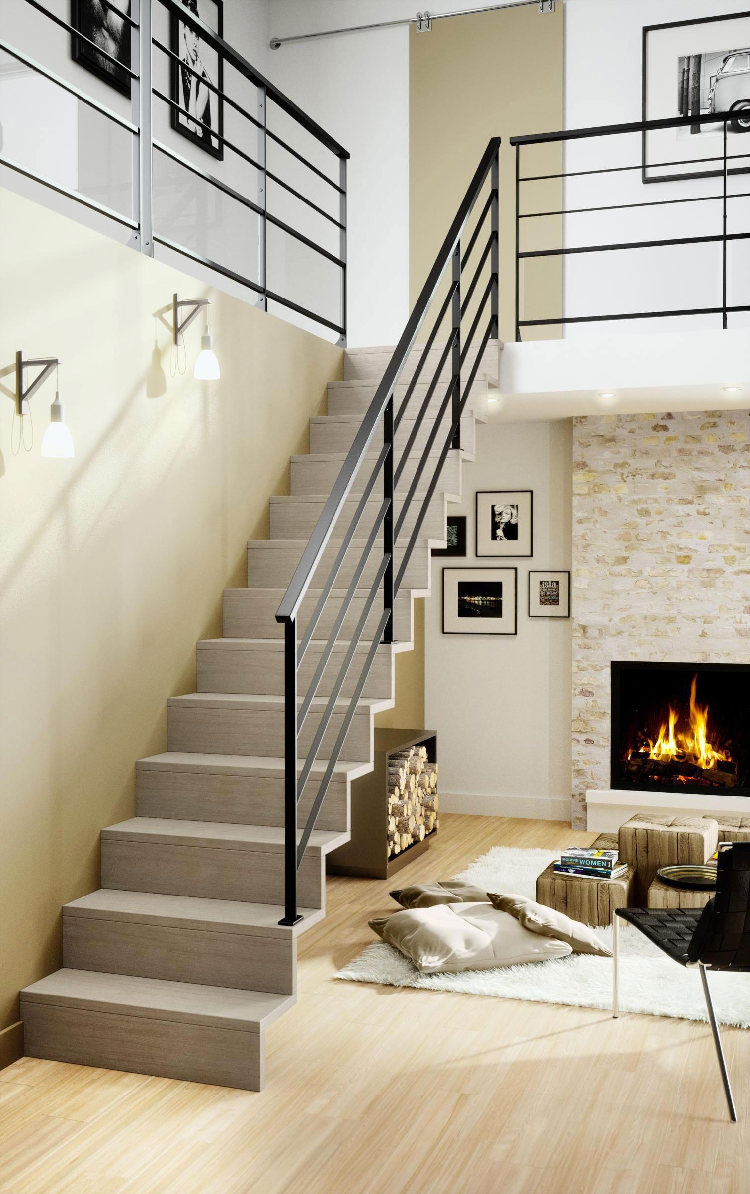 Escalier Standard Ou Escalier Sur Mesure
