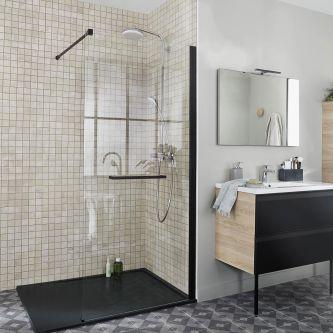 salle de bains tout pour la salle de bains lapeyre. Black Bedroom Furniture Sets. Home Design Ideas