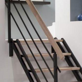 escaliers tous nos escaliers lapeyre. Black Bedroom Furniture Sets. Home Design Ideas