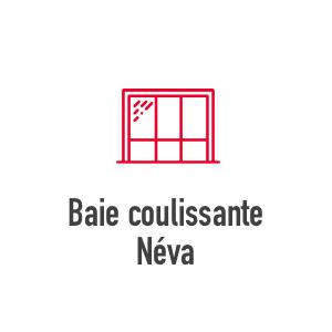 Baie coulissante Néva